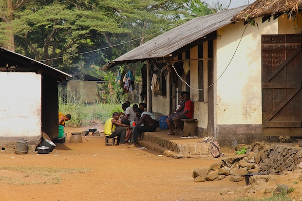 Workers' camp, Ndian Estate, Mundemba, Southwest Region, Cameroon